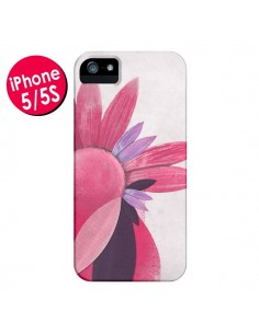Coque Flowers Fleurs Roses pour iPhone 5 et 5S - Lassana