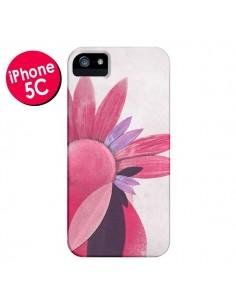 Coque Flowers Fleurs Roses pour iPhone 5C - Lassana