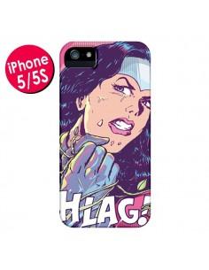 Coque Girl Shlag Comics BD pour iPhone 5 et 5S - Lassana