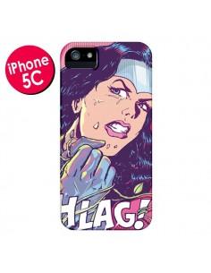 Coque Girl Shlag Comics BD pour iPhone 5C - Lassana