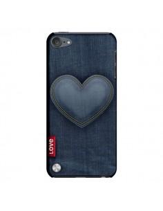 Coque Love Coeur en Jean pour iPod Touch 5 - Lassana