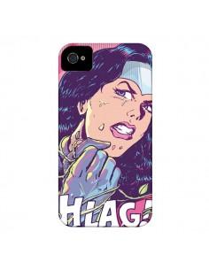 Coque Girl Shlag Comics BD pour iPhone 4 et 4S - Lassana