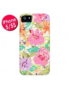 Coque Fleurs Botanical pour iPhone 5 et 5S - AlekSia