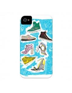 Coque Cinderella Shoes Chaussures pour iPhone 4 et 4S - AlekSia