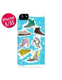 Coque Cinderella Shoes Chaussures pour iPhone 5 et 5S - AlekSia