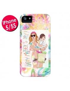 Coque Mother's Day Fête des Mères pour iPhone 5 et 5S - AlekSia