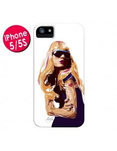 Coque Playa Femme pour iPhone 5 et 5S - AlekSia