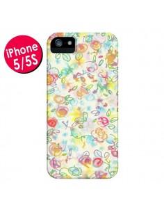 Coque Primavera Fleurs pour iPhone 5 et 5S - AlekSia