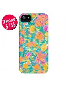Coque Printemps Fleurs pour iPhone 5 et 5S - AlekSia