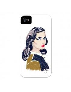 Coque Retro Femme pour iPhone 4 et 4S - AlekSia