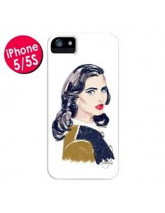 Coque Retro Femme pour iPhone 5 et 5S - AlekSia