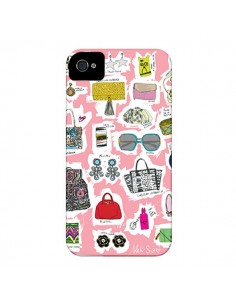 Coque Shopping List pour iPhone 4 et 4S - AlekSia
