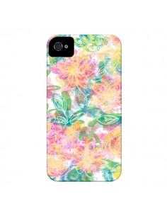 Coque Spring Fleurs pour iPhone 4 et 4S - AlekSia