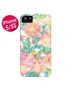 Coque Spring Fleurs pour iPhone 5 et 5S - AlekSia