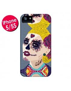 Coque Sugar Skull Tête de Mort pour iPhone 5 et 5S - AlekSia