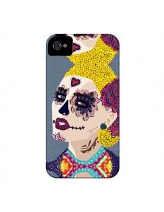 Coque Sugar Skull Tête de Mort pour iPhone 4 et 4S - AlekSia