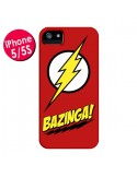 Coque Bazinga Sheldon The Big Bang Theory pour iPhone 5 et 5S - Jonathan Perez