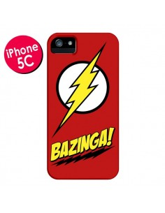 Coque Bazinga Sheldon The Big Bang Theory pour iPhone 5C - Jonathan Perez