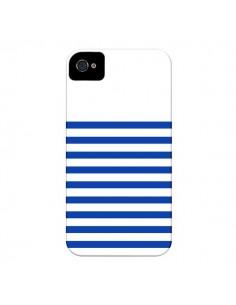 Coque Mariniere Bleu pour iPhone 4 et 4S - Jonathan Perez