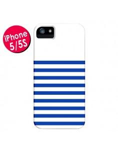 Coque Mariniere Bleu pour iPhone 5 et 5S - Jonathan Perez