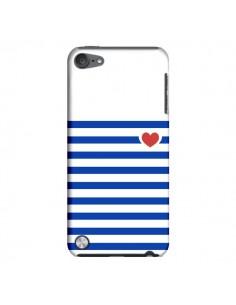 Coque Mariniere Coeur pour iPod Touch 5 - Jonathan Perez