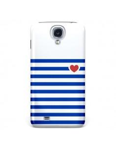 Coque Mariniere Coeur pour Samsung Galaxy S4 - Jonathan Perez