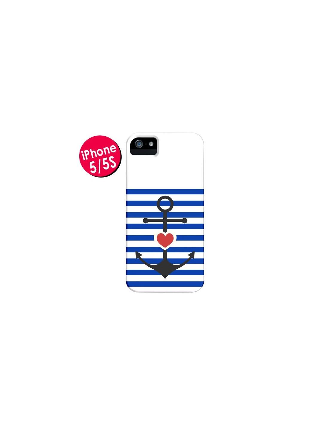 coque iphone 5 marin