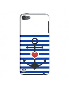 Coque Mariniere Encre Marin Coeur pour iPod Touch 5 - Jonathan Perez