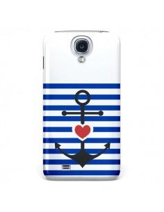 Coque Mariniere Encre Marin Coeur pour Samsung Galaxy S4 - Jonathan Perez