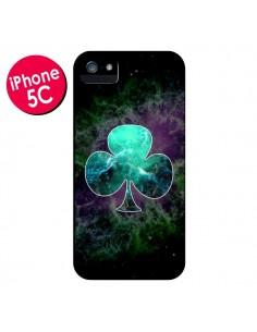 Coque Nebula Club Trèfle Galaxie pour iPhone 5C - Jonathan Perez