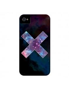 Coque Nebula Cross Croix Galaxie pour iPhone 4 et 4S - Jonathan Perez