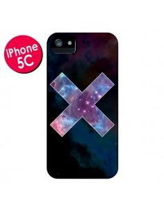 Coque Nebula Cross Croix Galaxie pour iPhone 5C - Jonathan Perez