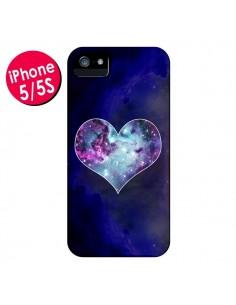 Coque Nebula Heart Coeur Galaxie pour iPhone 5 et 5S - Jonathan Perez
