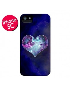 Coque Nebula Heart Coeur Galaxie pour iPhone 5C - Jonathan Perez