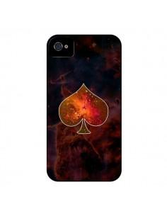 Coque Nebula Spade Pique Galaxie pour iPhone 4 et 4S - Jonathan Perez