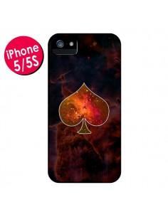 Coque Nebula Spade Pique Galaxie pour iPhone 5 et 5S - Jonathan Perez