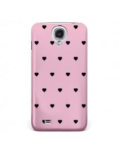 Coque Coeurs Roses pour Samsung Galaxy S4 - Jonathan Perez