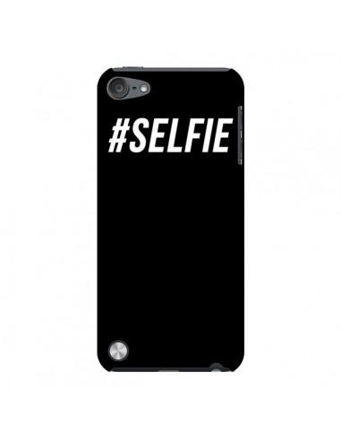 Coque Hashtag Selfie Noir Vertical pour iPod Touch 5 - Jonathan Perez