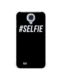 Coque Hashtag Selfie Noir Vertical pour Samsung Galaxy S4 - Jonathan Perez