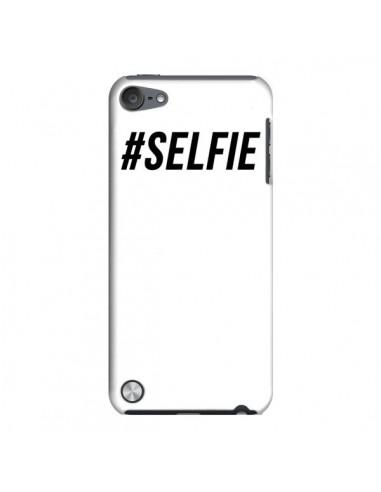 Coque Hashtag Selfie Blanc Vertical pour iPod Touch 5 - Jonathan Perez