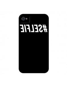 Coque Hashtag Selfie Noir Inversé pour iPhone 4 et 4S - Jonathan Perez