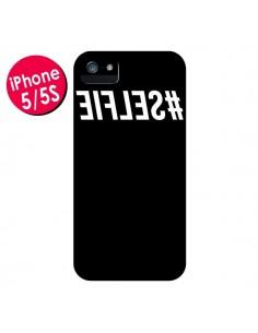Coque Hashtag Selfie Noir Inversé pour iPhone 5 et 5S - Jonathan Perez