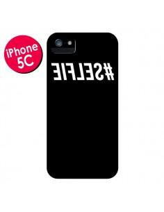 Coque Hashtag Selfie Noir Inversé pour iPhone 5C - Jonathan Perez