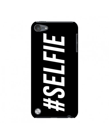 Coque Hashtag Selfie Noir Horizontal pour iPod Touch 5 - Jonathan Perez