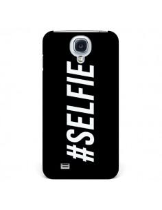 Coque Hashtag Selfie Noir Horizontal pour Samsung Galaxy S4 - Jonathan Perez