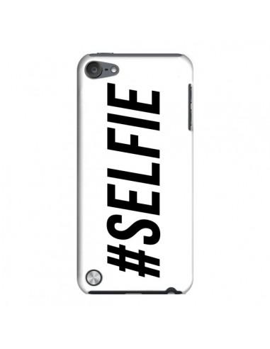 Coque Hashtag Selfie Blanc Horizontal pour iPod Touch 5 - Jonathan Perez