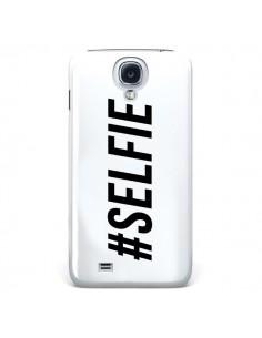 Coque Hashtag Selfie Blanc Horizontal pour Samsung Galaxy S4 - Jonathan Perez