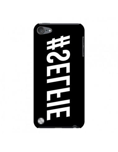 Coque Hashtag Selfie Noir Inversé Horizontal pour iPod Touch 5 - Jonathan Perez