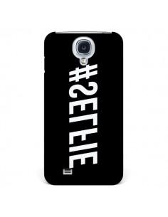 Coque Hashtag Selfie Noir Inversé Horizontal pour Samsung Galaxy S4 - Jonathan Perez