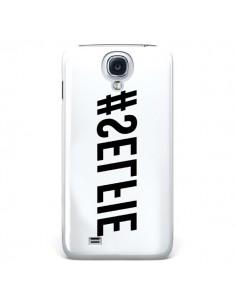 Coque Hashtag Selfie Blanc Inversé Horizontal pour Samsung Galaxy S4 - Jonathan Perez
